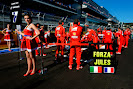 #ForzaJules on the grid with grid girl