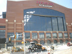 Lucas Oil Stadium - City Wide Paving Finishing Asphalt Installation