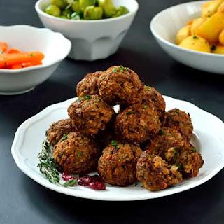 Cranberry Stuffing Balls Recipes