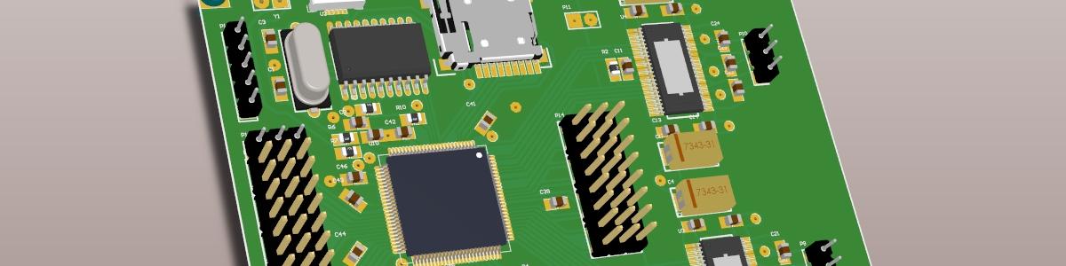 Spincopter v4 motherboard