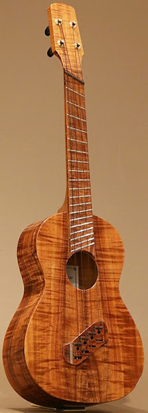 Kakumae fan fret Tenor
