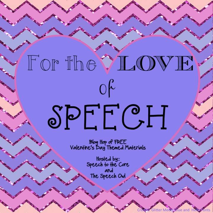 For the Love of Speech Blog Hop image