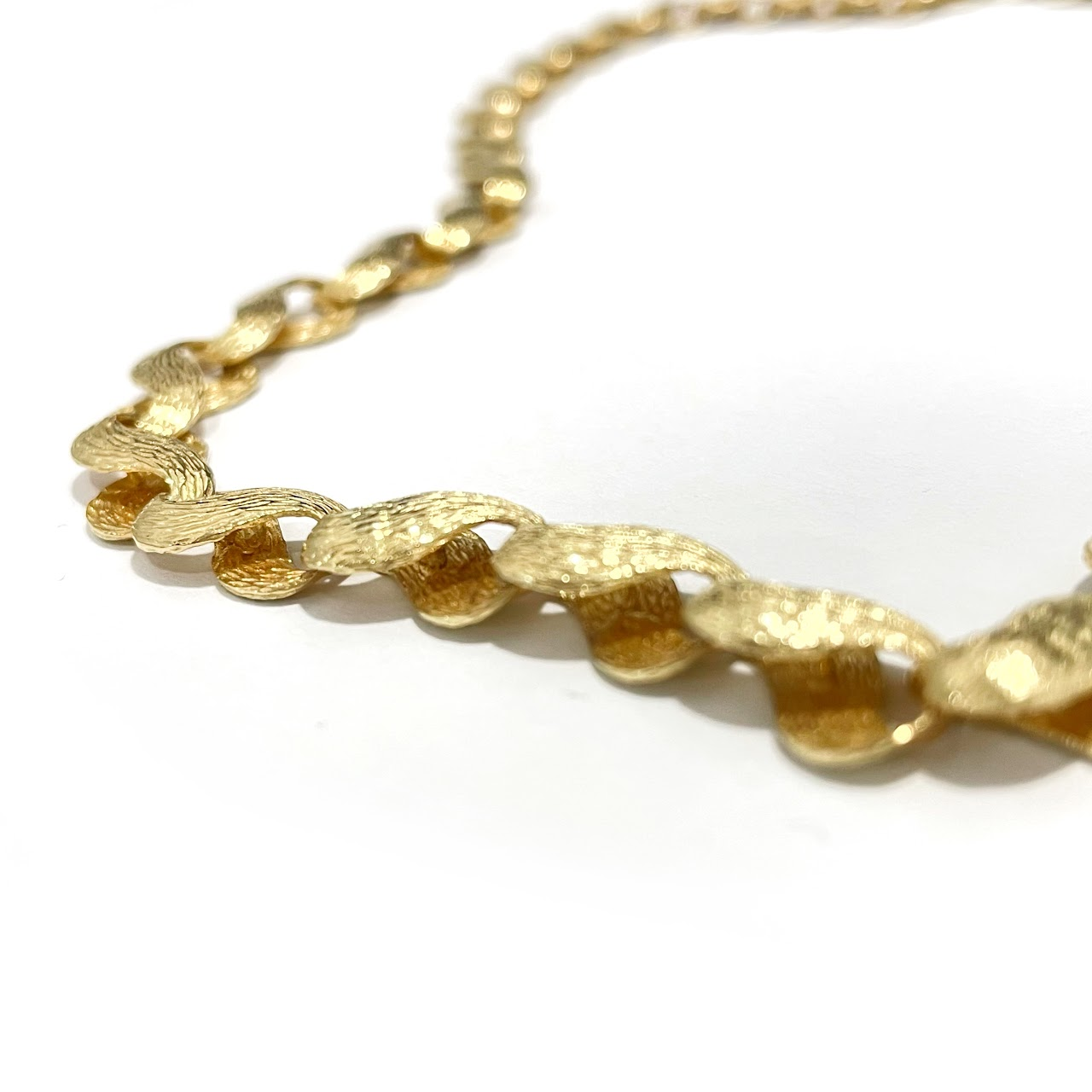14K Gold Figure 8 Necklace