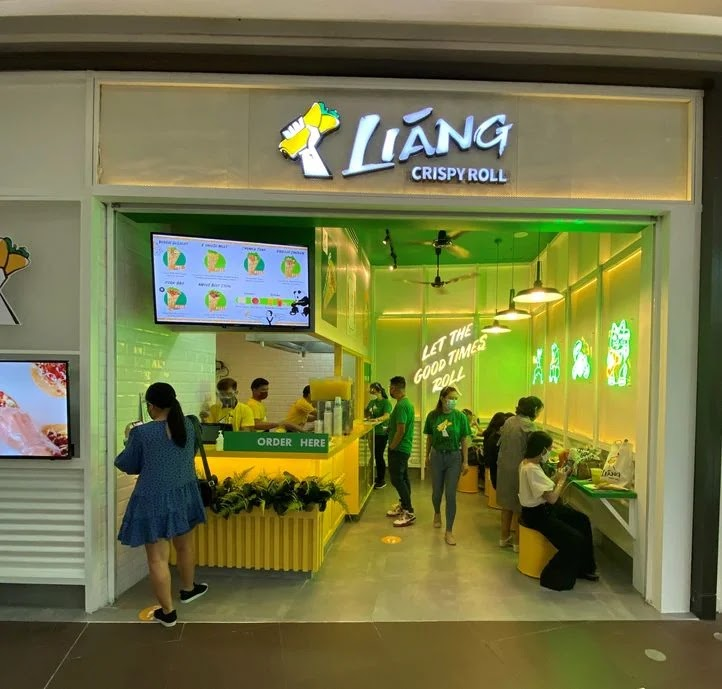 Liang Crispy Roll's first branch at SM Aura Premier