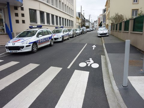 Supression du double sens cyclable