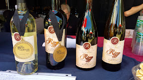 Rizzo Wines available for tasting at their booth at the Bite of Oregon