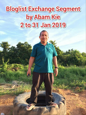 Bloglist Exchange Segment by Abam Kie, blogger, blog, bloglist 2019,