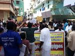Protest against TASMAC in Mylapore