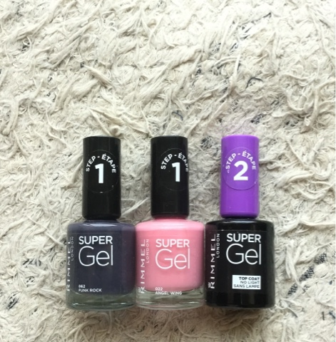 Creating A Geously Glossy Pro Perfect Gel Manicure Is Now As Easy 1 2 That S It Get The London Look Nails With Rimmel Super