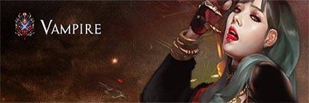 شخصية مصاص الدماء لعبة Dark Eden Origin Vampire