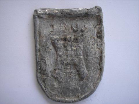 Naam: OnbekendPlaats: AlkmaarJaartal: 1903Bijz. Nagietsel wapen Alkmaar
