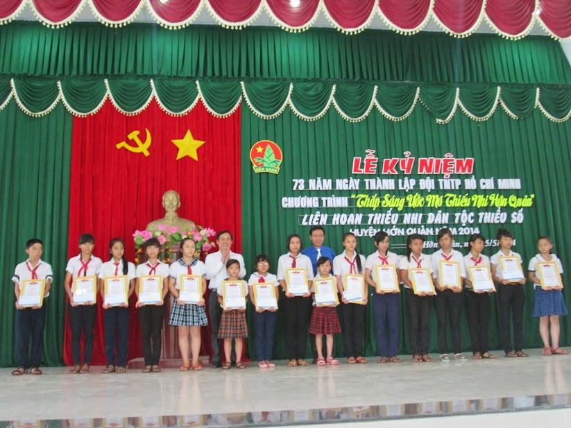Hớn Quản: Nhiều hoạt động tại Lễ kỷ niệm 73 năm ngày thành lập Đội
