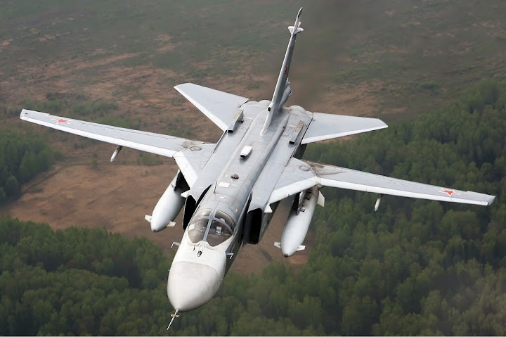 Video: Russian pilot killed by NATO jets