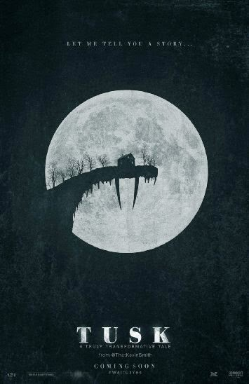 Poster Of English Movie Tusk (2014) Free Download Full New Hollywood Movie Watch Online At alldownloads4u.com