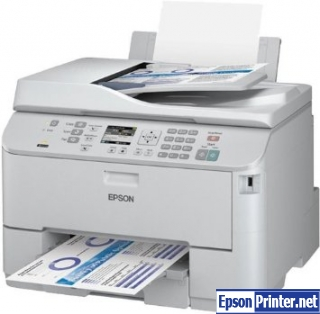 Reset Epson WorkForce WP-4521 printing device with software