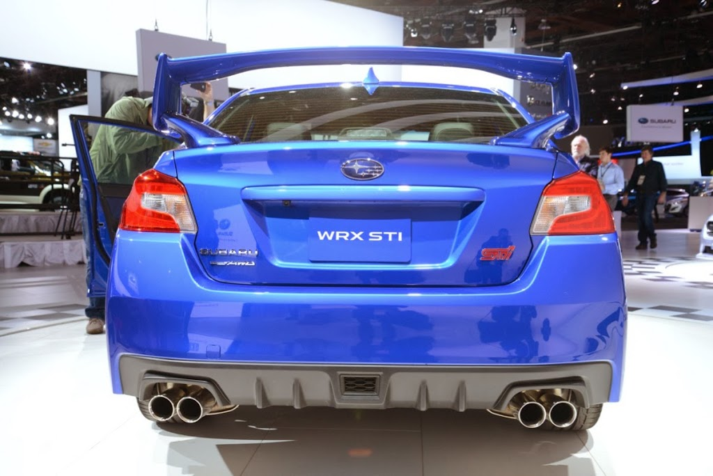 2015 Subaru WRX STI NAIAS 7