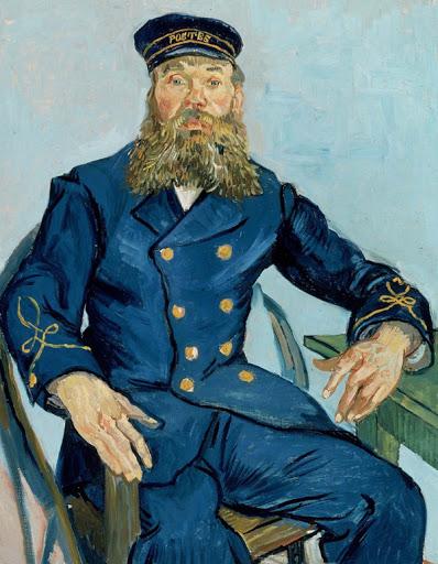 Retrato de Joseph Roulin