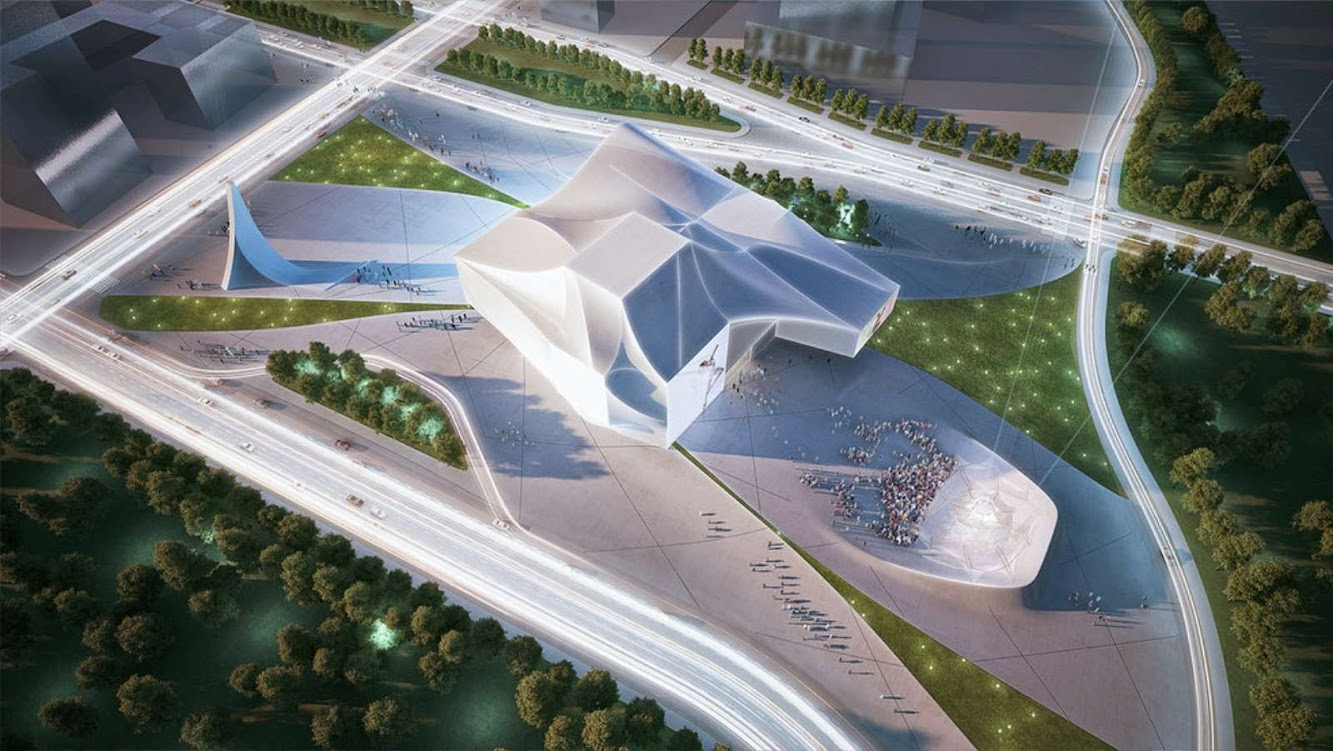 Sejong Center for Performing Arts by Asymptote Architecture