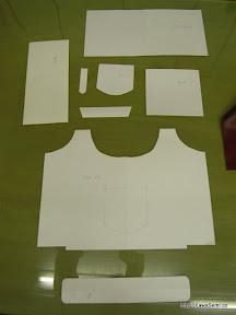 これが型紙