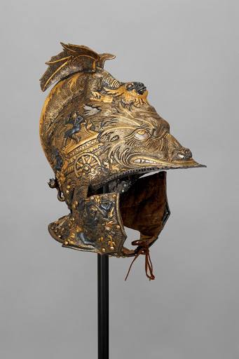 All'antica Morion of Archduke Ferdinand II of Tyrol. From The Museum of Fine Arts Houston Cloaked in Magnificent Opulence
