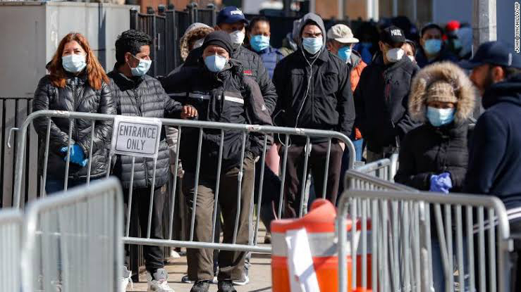 Coronavirus updates: NYC suggests that people cover their faces outdoors
