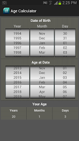 Age Calculator - Birthday, Date Tracker Apk Download Free for PC, smart TV