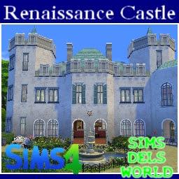 sims4 castle