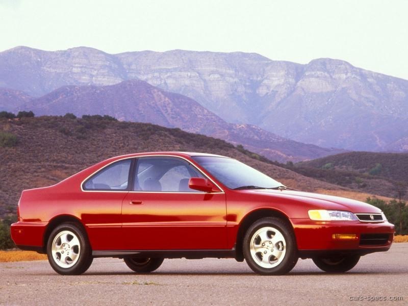1996 honda accord coupe specifications pictures prices. Black Bedroom Furniture Sets. Home Design Ideas