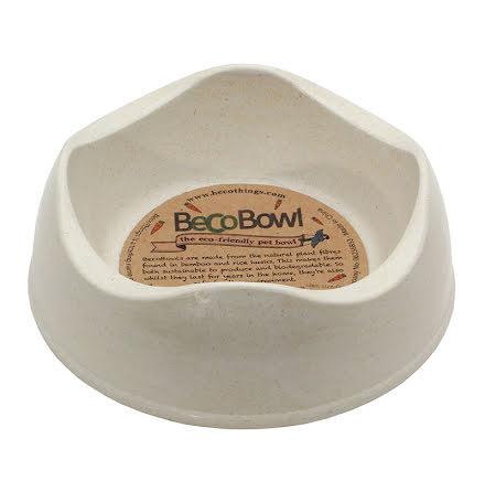 Beco Matskål Beige från Växtfiber X-Small