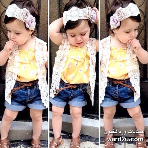 أحدث صيحات موضة ملابس الاطفال kids fashion