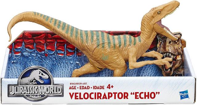 Sản phẩm Khủng long Chim ăn thịt tốc độ Velociraptor Echo Jurassic World B1142/B1139