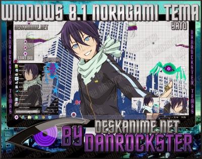 Windows 8 1 Yato Tema | Desk Anime