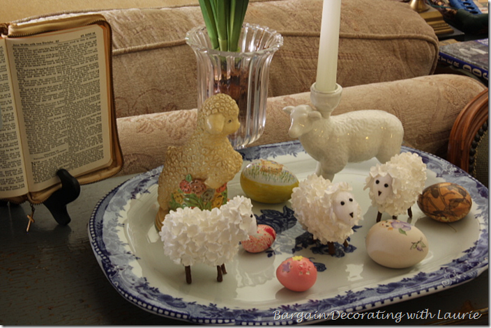 EASTER LAMB DECOR