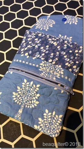 tri fold ITH purse
