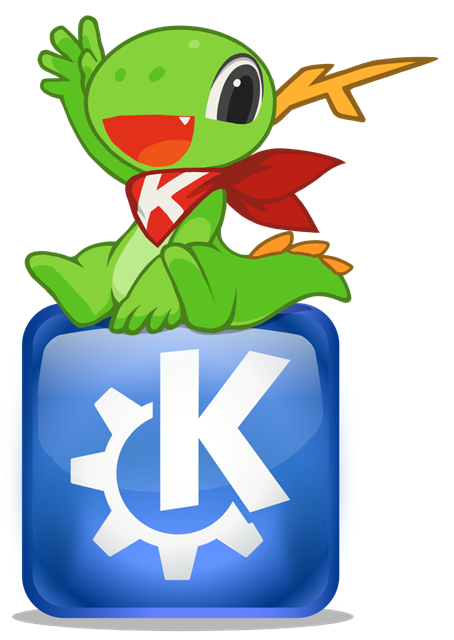 Konqi_sitting_on_KDE_logo