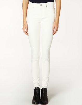 White skinny jeans Glassons