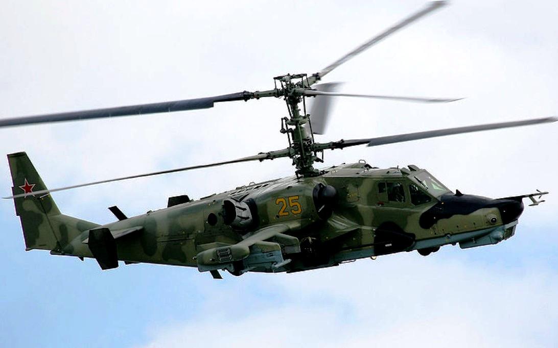 Kamov Ka-50 Black Shark Helicopter Wallpaper 3