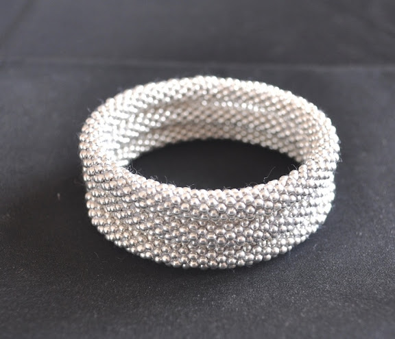 Metal Bead silver color bracelets