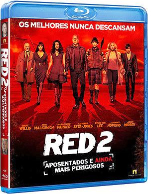 Filme Poster RED 2 - Aposentados e Ainda Mais Perigosos BDRip XviD Dual Audio & RMVB Dublado