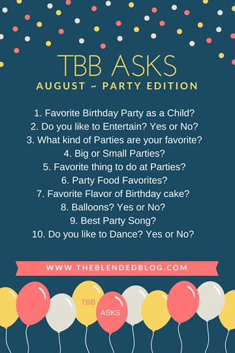 TBB ASKS AUGUST PARTY EDITION