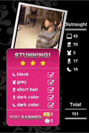 Style Me Girl Level 8 - Distraught- Stella - Stunning! Three Stars