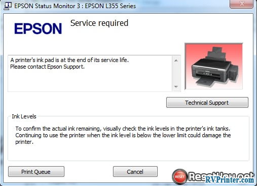 avoid epson l220 waste ink counter overflow - image 6