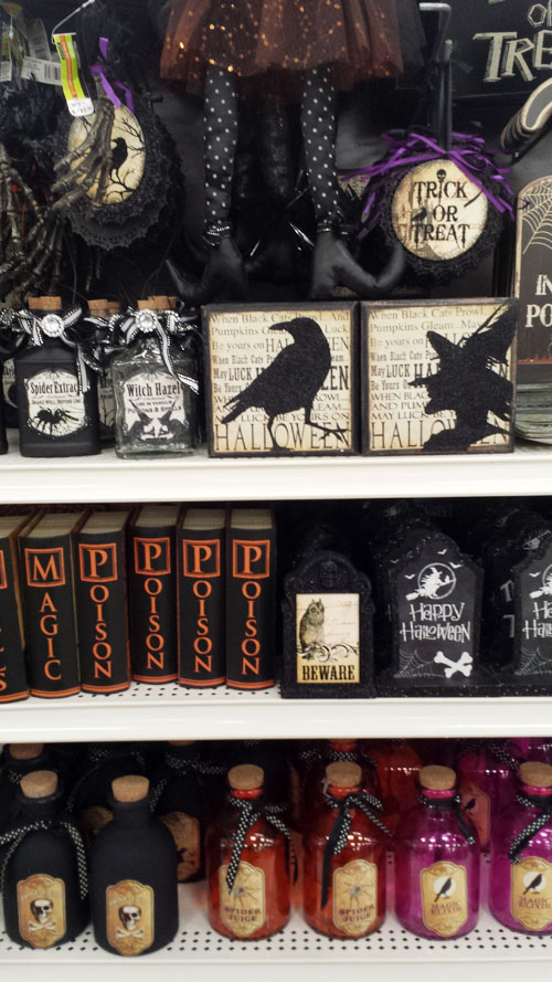 Halloween Deocrations at Michaels