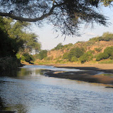 Tuli Block - Limpopo River, that's South Africa on the other side