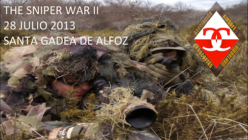 The Sniper War II (28 de Julio) Cartel