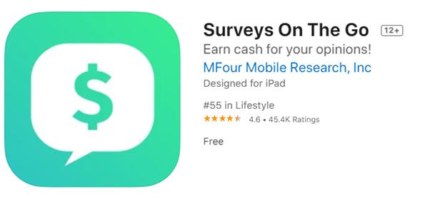 Surveys On The Go 5 Aplikasi Penghasil Uang iOS Terbaik