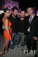 Tarkan at Pure with friends