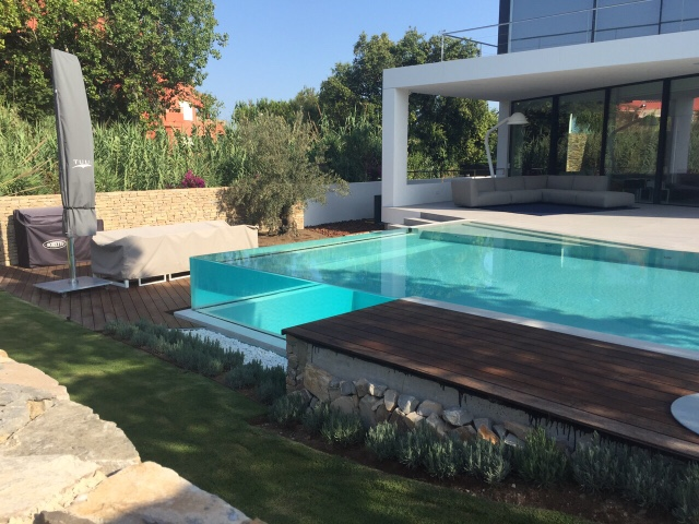 alba piscinas com piscina minimalista rebosante dom ref