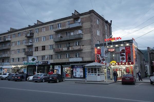 Einkaufstraße in Vanadzor