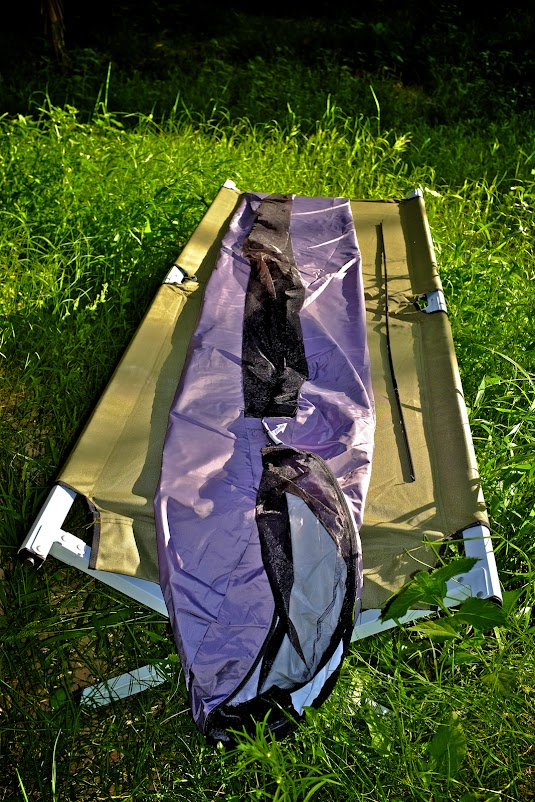 Weekend Test of Outdoor Research Bug Bivy